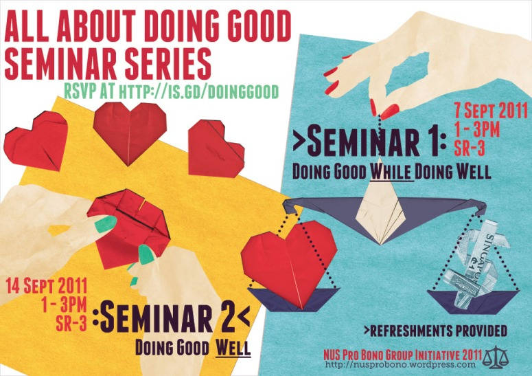 All About Doing Good Seminar Series